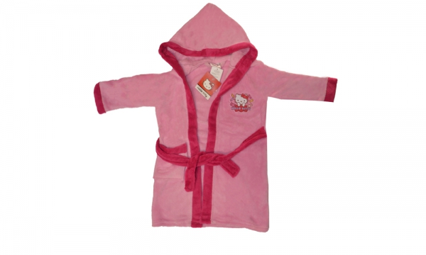 Hello Kitty Light Pink 6 Years Bathrobe