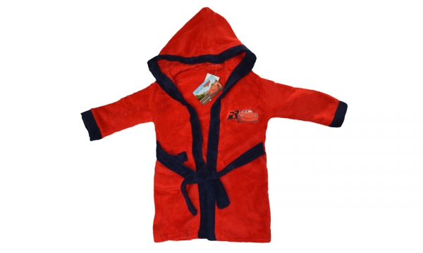 Disney Cars Red 8 Years Bathrobe