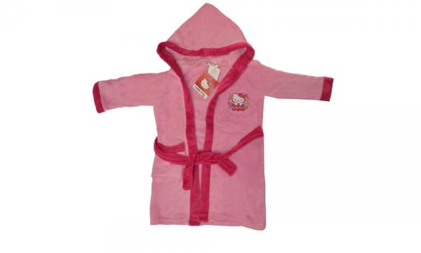 Hello Kitty Light Pink 3 Years Bathrobe