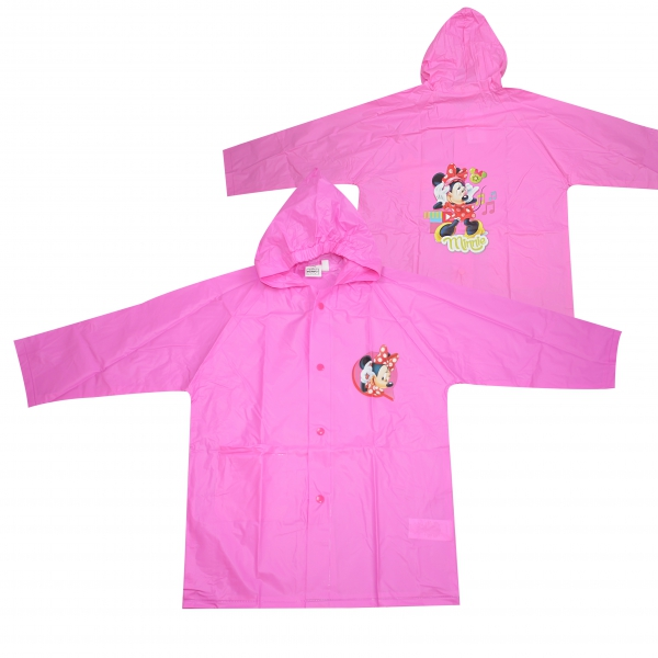 Disney Minnie Mouse Pink 2 Years Raincoat
