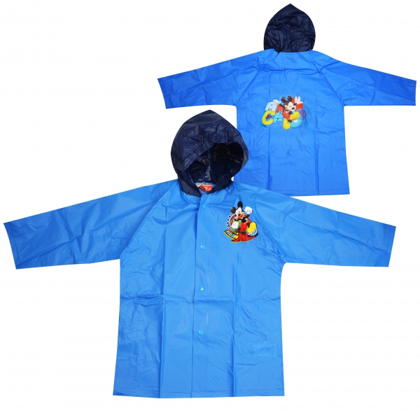 Disney Mickey Mouse Light Blue 2 Years Raincoat