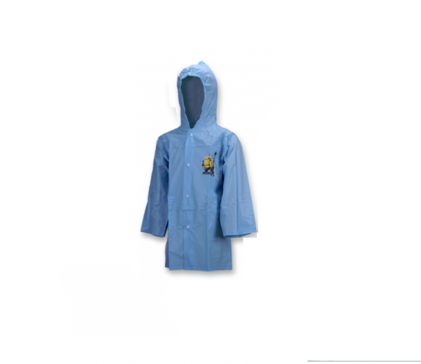 Minions Blue 4 Years Raincoat