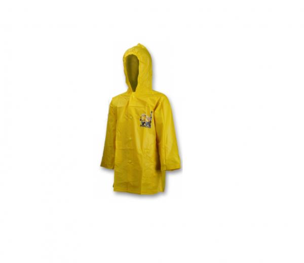 Minions Yellow 4 Years Raincoat