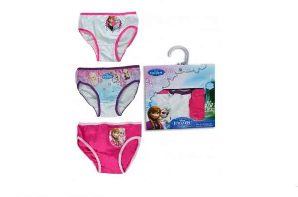 Disney Frozen 3pk 'Anna Elsa' 6-8 Years Briefs