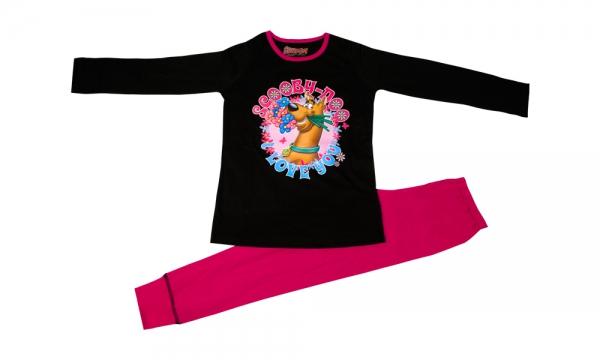 Scooby Doo 'Love You' 9-10 Years Pyjama Set