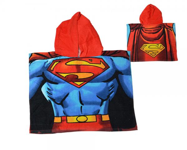 Superman Poncho Towel