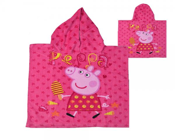 Peppa Pig Poncho Towel