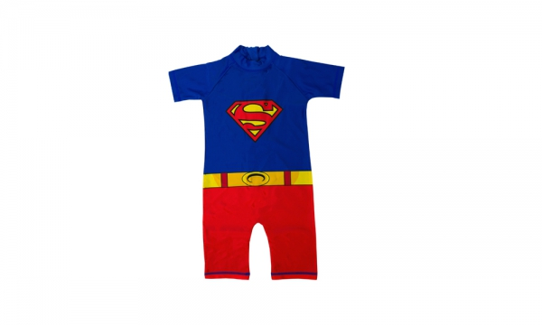 Boys Superman 2-3 Years Sunsafe Swimming Pool