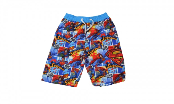 Superman Surf Short 8-9 Years Trunks