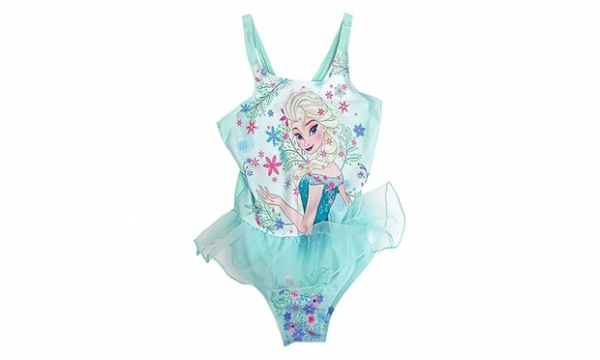 Disney Frozen 'Elsa' 6-7 Years Swimsuit Swimming Pool
