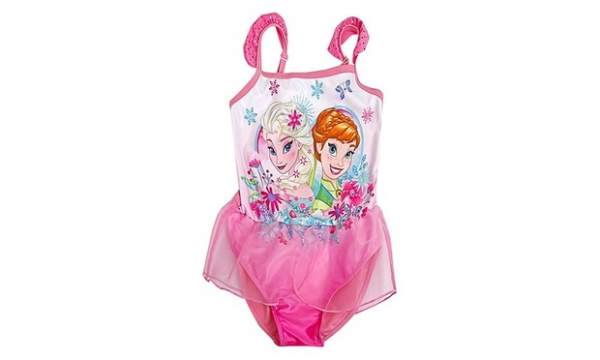 Disney Frozen 'Sisters' 6-7 Years Swimsuit Swimming Pool