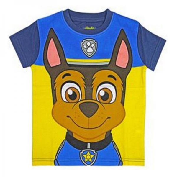 Paw Patrol 'Chase' with Mask 3-4 Years T Shirt