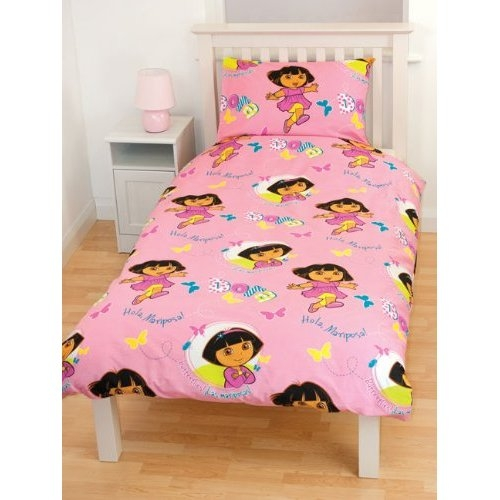 Dora 'Play' Rotary Single Bed Duvet Quilt Cover Set
