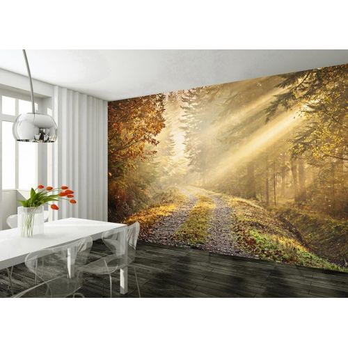 'Forest' Giant Easy Hang Wallpaper Mural Wall Paper Decoration