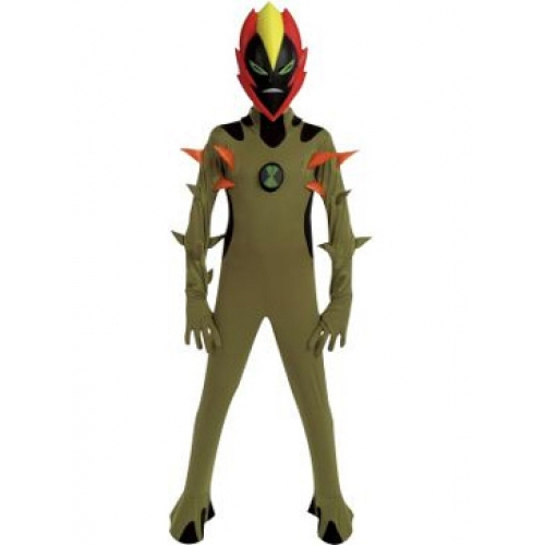 Ben 10 Alien Force Sw&fire 3 To 5 Years Costume  sc 1 st  Linen Ideas ltd & Ben 10 Alien Force Swampfire 3 To 5 Years Costume 3700263176616