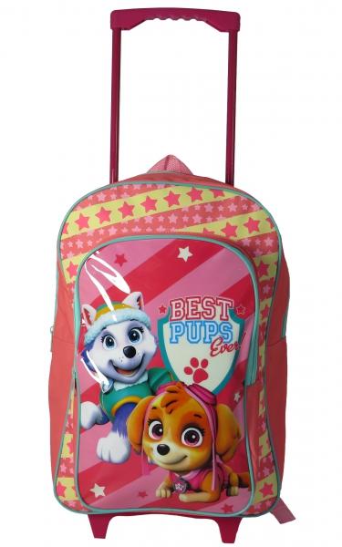 f2239bfc4347 ... Paw Patrol  Skye  Girls Trolley Backpack School Travel Roller Wheeled  Bag