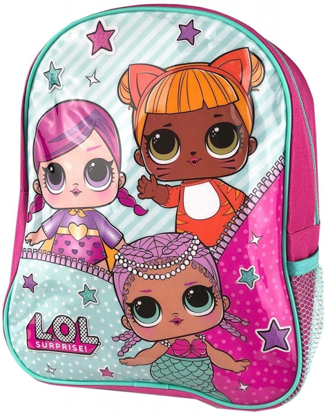 Lol Surprise Plain Blue School Bag Rucksack Backpack