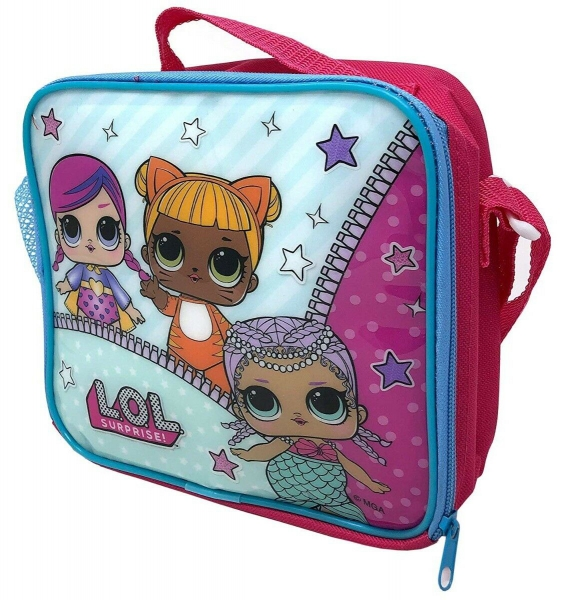 Lol Surprise Kids Thermal Insulated Bag Lunch Box