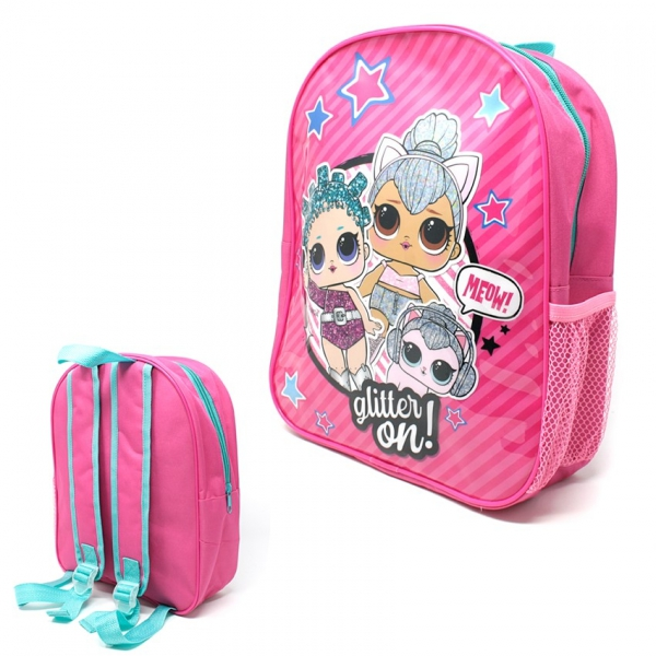 Lol Surprise Glitter on Meow! School Bag Rucksack Backpack