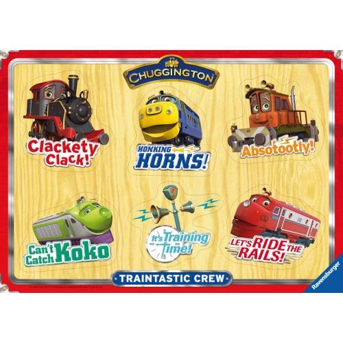 Chuggington 6 Piece Playtray Puzzle