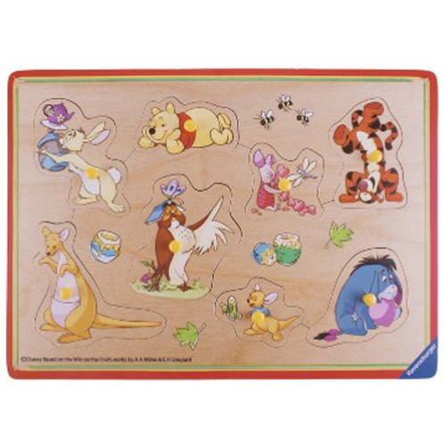 Disney Winnie The Pooh 8pc Playtray Puzzle
