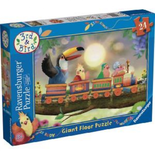 3rd and Bird 24 Piece Jigsaw Puzzle Game