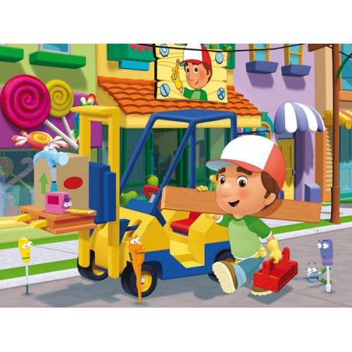 Handy Manny 24 Piece Jigsaw Puzzle Game
