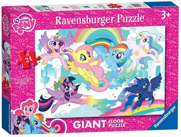 My Little Pony 'Giant Floor' 24 Piece Jigsaw Puzzle Game