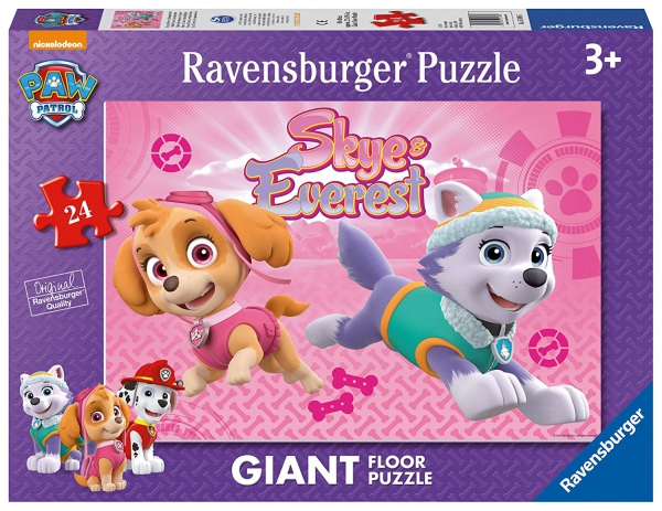 Paw Patrol 'Skye & Everest' Giant Floor 24 Piece Jigsaw Puzzle Game