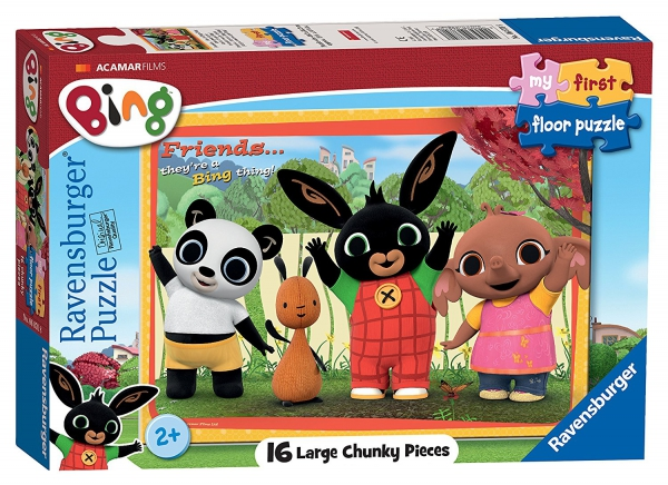 Bing Bunny ' My First Large Chunky 16 Piece Jigsaw Puzzle Game