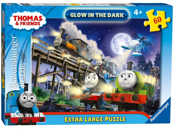 Thomas The Tank Engine 'Glow In Dark' 60 Piece Jigsaw Puzzle Game