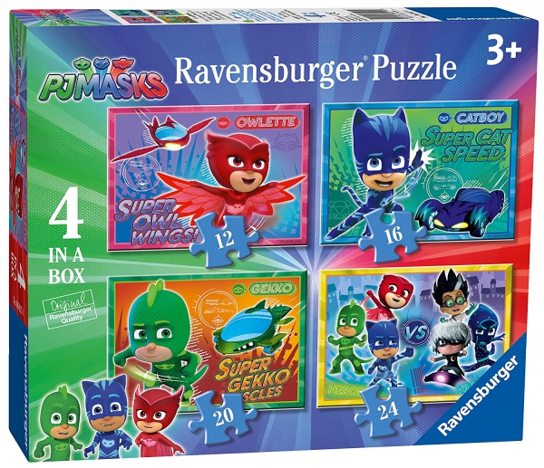 Disney Pj Masks 12 16 20 24 Piece 4 Jigsaw Puzzle Game