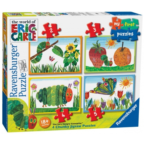 Hungry Caterpillar 'My First S' 2 3 4 5 Piece Jigsaw Puzzle Game