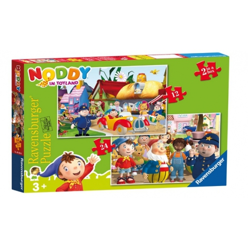 Noddy In Toyland 2in1 12 24 Piece 2 Jigsaw Puzzle Game