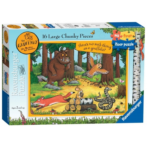 The Gruffalo 'My First Floor' 16 Piece Jigsaw Puzzle Game