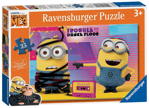Despicable Me 3 'Minions' 35 Piece Jigsaw Puzzle Game
