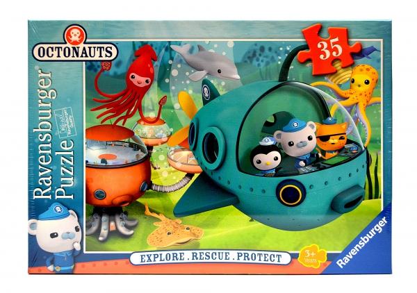 Disney Octonauts Explore Rescue Protect 35 Piece Jigsaw Puzzle Game