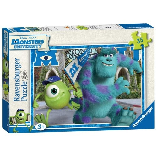 Disney Monster University 'Campus Fun' 35 Piece Jigsaw Puzzle Game