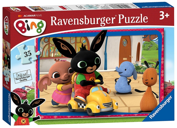 Bing Bunny 35 Piece Jigsaw Puzzle Game