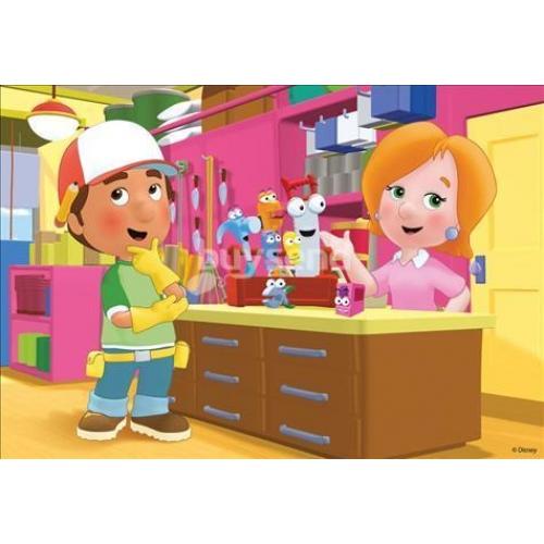 Disney Handy Mandy 2x20 Piece Jigsaw Puzzle Game