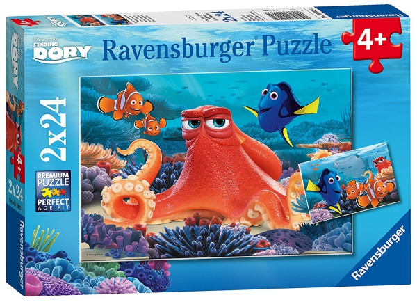 Disney Finding Dory 2x24 Piece Jigsaw Puzzle Game