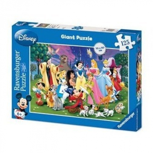 Disney Giant 125 Piece Jigsaw Puzzle Game