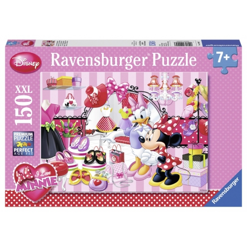 Disney Minnie Mouse 'Boutique' XXL 150 Piece Jigsaw Puzzle Game