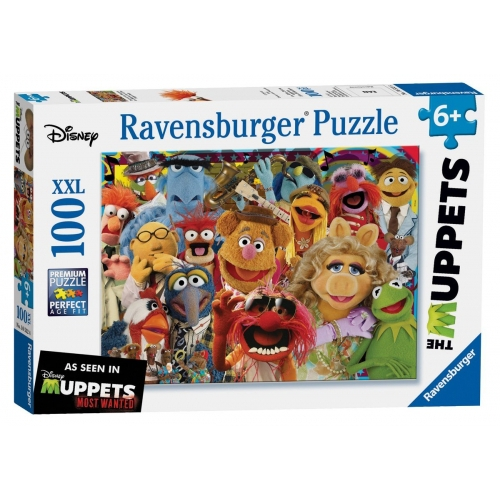 Disney The Muppets XXL 100 Piece Jigsaw Puzzle Game