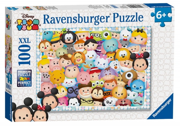 Disney Tsum XXL 100 Piece Jigsaw Puzzle Game