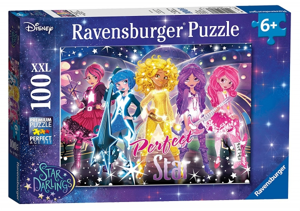 Disney Star Darlings 'Perfect Star' XXL 100 Piece Jigsaw Puzzle Game