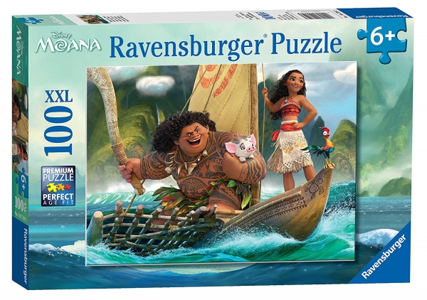 Disney Moana 'XXL' 100 Piece Jigsaw Puzzle Game