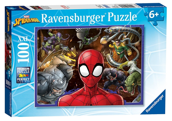 Spiderman 'Force' XXL 100 Piece Jigsaw Puzzle Game