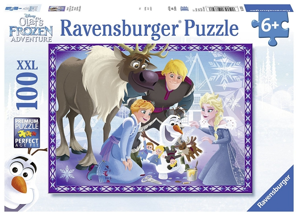 Disney Frozen 'Olaf' S Adventures' XXL 100 Piece Jigsaw Puzzle Game