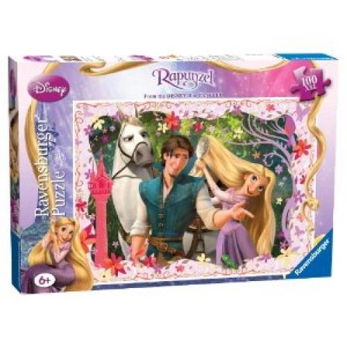 Disney Rapunzel Tangled 100 Piece Jigsaw Puzzle Game